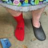 reversible sock