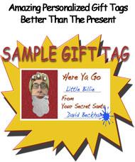 Free Gift Tag header
