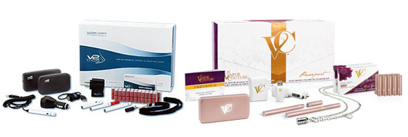 V2 Cigs Ultimate Kit and Vapor Couture Passeport Kit