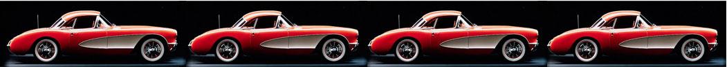 Classic Corvette divider bar