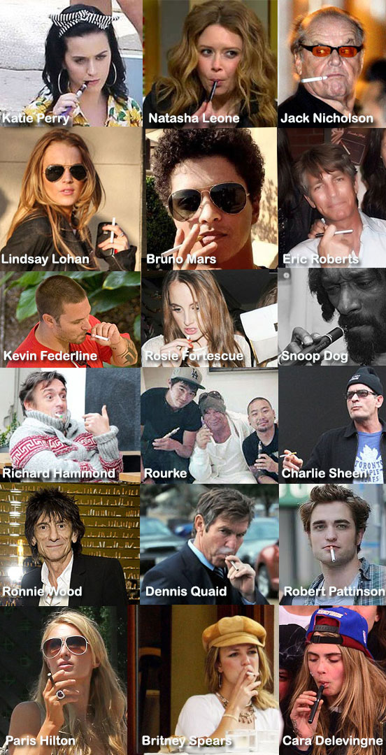 E-Cigarette Celebrities