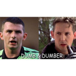 Belting Look Alikes Michael Oliver and Harland Williams