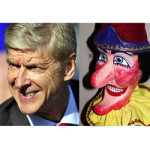 Belting Look Alikes – Arsène Wenger and Punch the Puppet