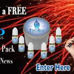 Win a Halo E-Cigarette E-Liquid Sample Pack