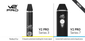 V2 Pro Series 3 and series 7 vaproizer