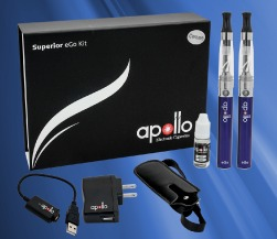 Apollo Superior Ego Kit- One of the Best for a Wide Range of Quality ECigs, Vaporizers and Tanks