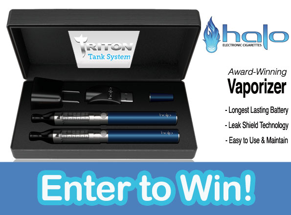Enter to Win a Halo Triton Tank Vaporizer