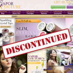 Vapor Couture E-Cigs Have Been Discontinued