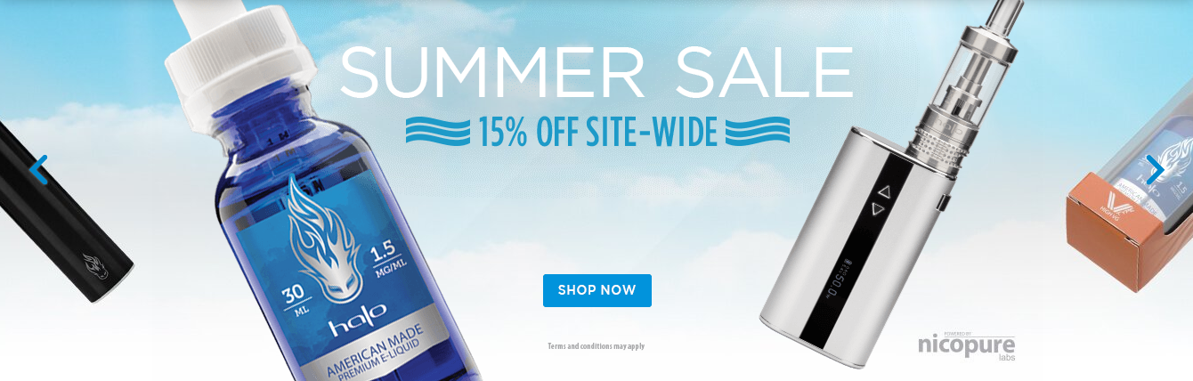 Halo Summer Sale