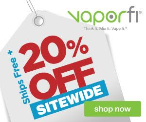 vaporfi freeshipping 20 percet off sitewide