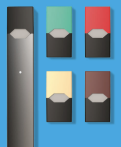 JUUL ecigs and flavor pods on ecigarettenews.net