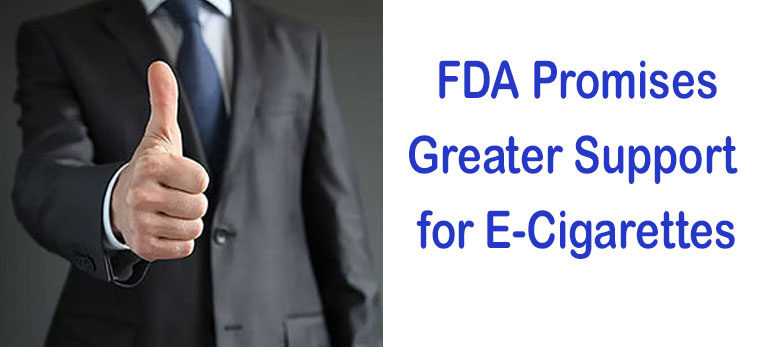 FD Promises Greater Support for ECigarettes