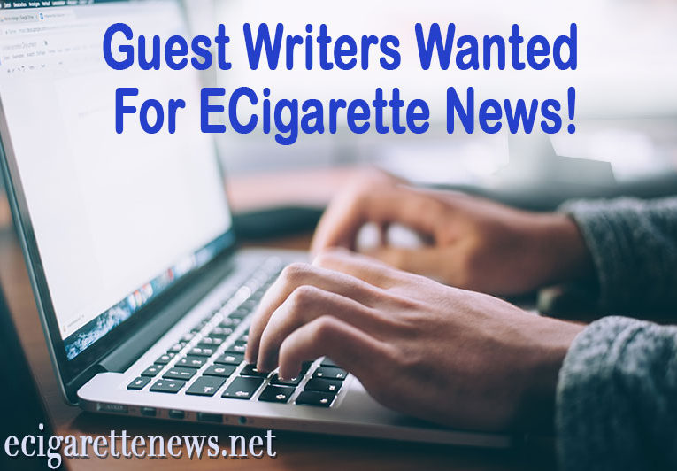 Guest Writers Wanted for Ecigarettenews.net