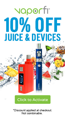 Save 10% at Vaporfi